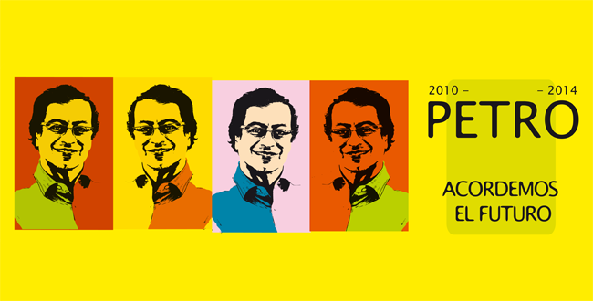 Candidato presidencial Gustavo Petro.